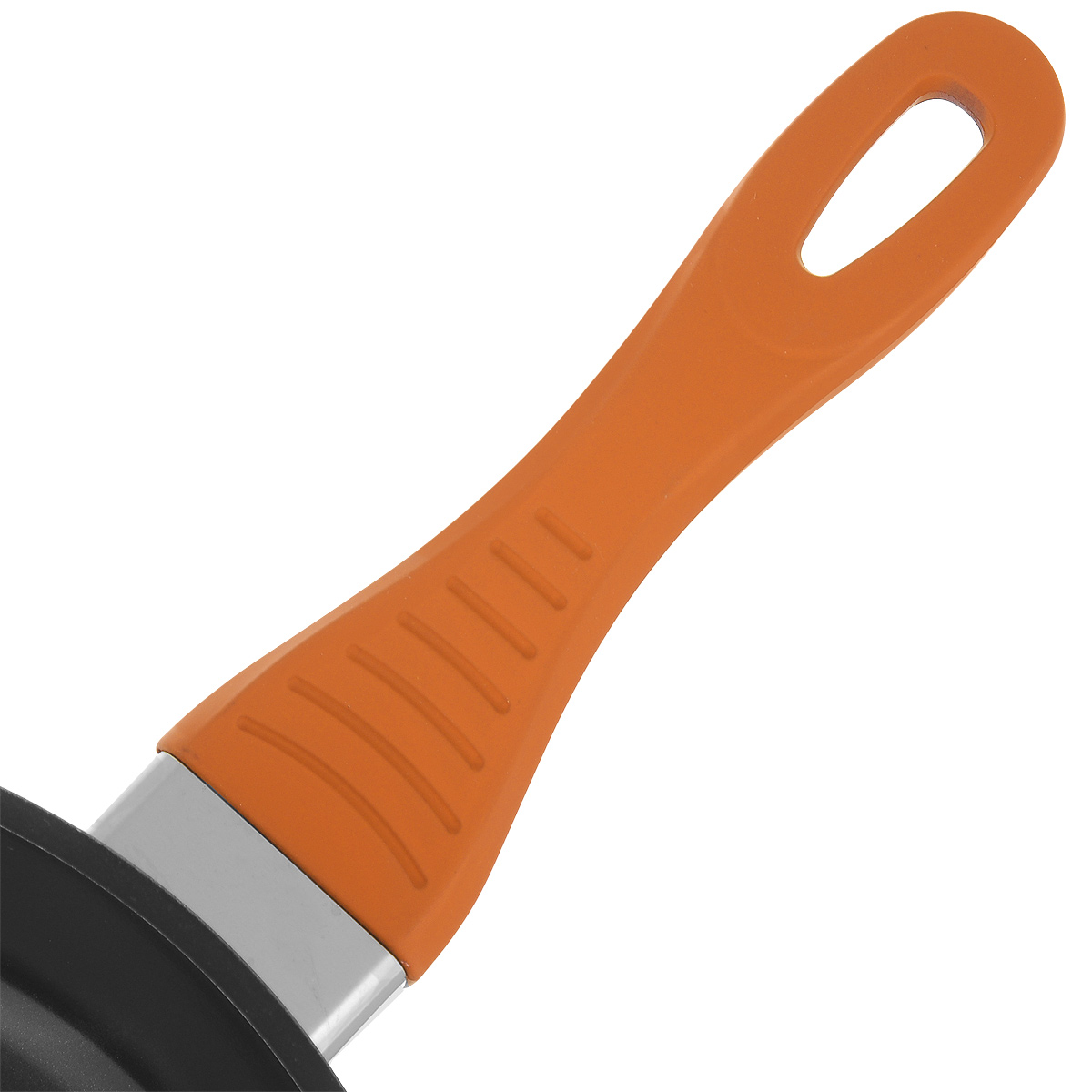 """Сковорода """"Bohmann"""" изготовлена из литого алюминия с антипригарным керамическим покрытием черного цвета  с эффектом 3D. Внешнее покрытие - жаростойкий лак, который сохраняет цвет долгое время. Благодаря  керамическому покрытию пища не пригорает и не прилипает к поверхности сковороды, что позволяет готовить с  минимальным количеством масла. Кроме того, такое покрытие абсолютно безопасно для здоровья человека, так  как не содержит вредной примеси PFOA. Рифленая внутренняя поверхность сковороды обеспечивает быстрое и  легкое приготовление. Она также оформлена рисунком в виде голубых кружков с эффектом 3D. Достоинства керамического покрытия:  - устойчивость к высоким температурам и резким перепадам температур,  - устойчивость к царапающим кухонным принадлежностям и абразивным моющим средствам,  - устойчивость к коррозии,  - водоотталкивающий эффект,  - покрытие способствует испарению воды во время готовки,  - длительный срок службы,  - безопасность для окружающей среды и человека.  Сковорода быстро разогревается, распределяя тепло по всей поверхности, что позволяет готовить в  энергосберегающем режиме, значительно сокращая время, проведенное у плиты.  Сковорода оснащена ручкой, выполненной из бакелита с термостойким силиконовым покрытием. Такая ручка не  нагревается в процессе готовки и обеспечивает надежный хват. Крышка изготовлена из жаропрочного стекла,  оснащена ручкой, отверстием для выпуска пара и металлическим ободом. Благодаря такой крышке можно следить  за приготовлением пищи без потери тепла.  Подходит для всех типов плит.  Подходит для чистки в посудомоечной машине."""