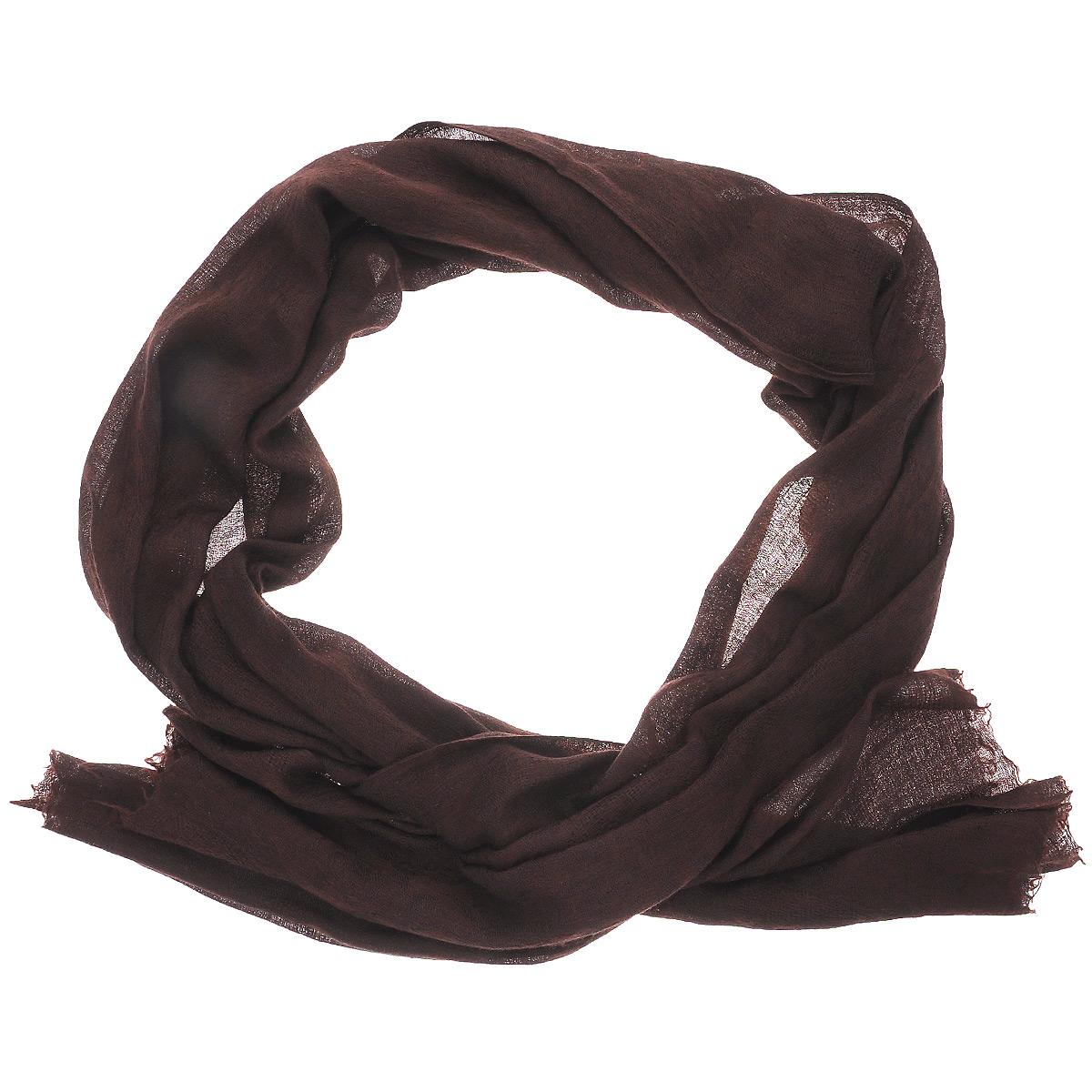 Палантин женский Ethnica Пейсли, цвет: темно-коричневый. 408450н. Размер 75 см х 200 см408450нЭлегантный палантин Ethnica подчеркнет ваш неповторимый образ. Он выполнен из мягкого кашемира и оформлен оригинальным орнаментом в виде индийских огурцов - пейсли. Этот модный аксессуар женского гардероба гармонично дополнит образ современной женщины, следящей за своим имиджем и стремящейся всегда оставаться стильной и элегантной. В этом палантине вы всегда будете выглядеть женственной и привлекательной.