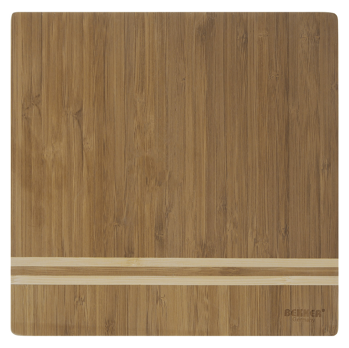 Доска разделочная Bekker, бамбуковая, 25 х 25 смBK-9725Квадратная разделочная доска Bekker изготовлена из высококачественной древесины бамбука, обладающей антибактериальными свойствами. Бамбук - инновационный материал, идеально подходящий для разделочных досок. Доски из бамбука обладают высокой плотностью структуры древесины, а также устойчивы к механическим воздействиям. Функциональная и простая в использовании, разделочная доска Bekker прекрасно впишется в интерьер любой кухни и прослужит вам долгие годы.
