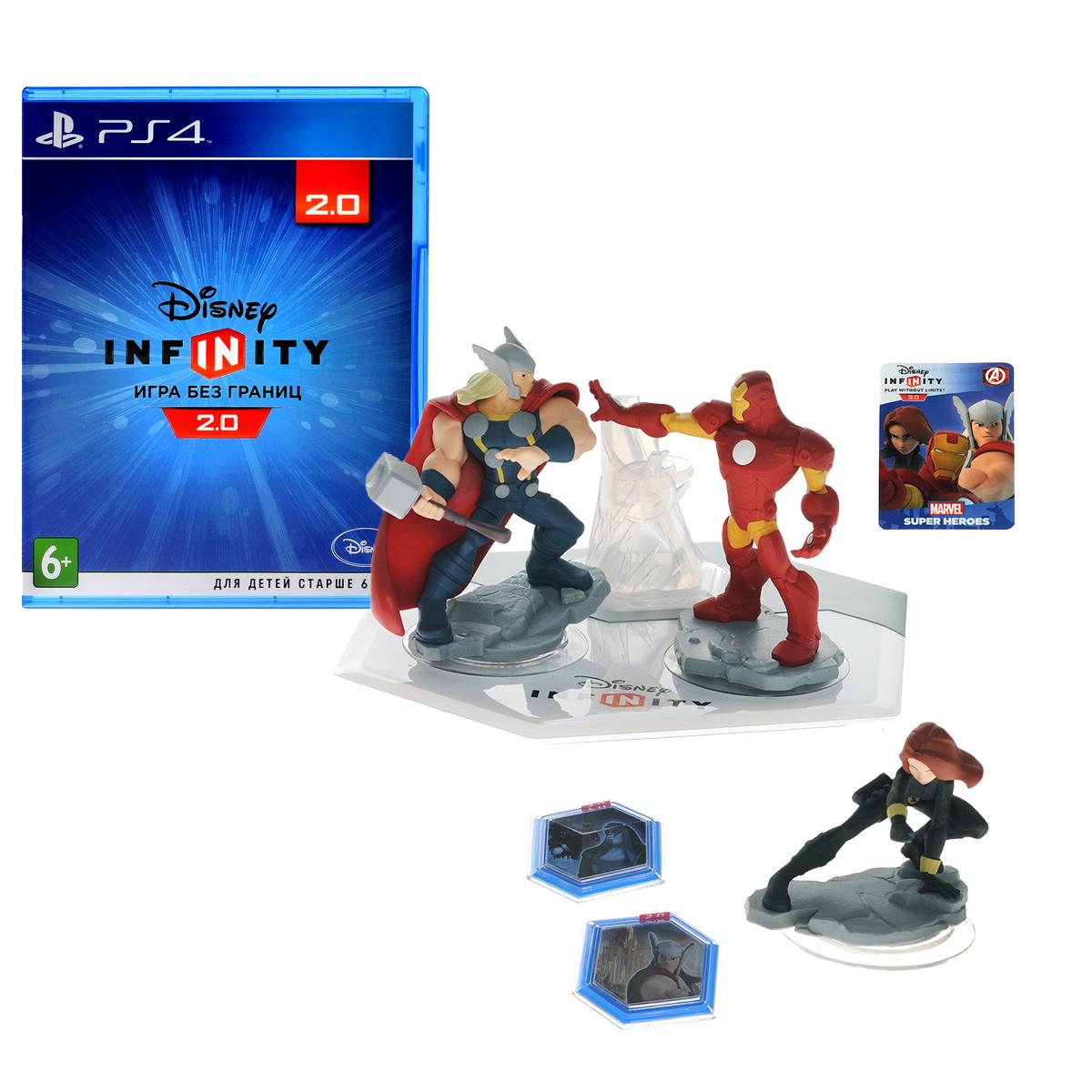все цены на Disney Infinity 2.0 (Marvel). Стартовый набор (PS4) онлайн