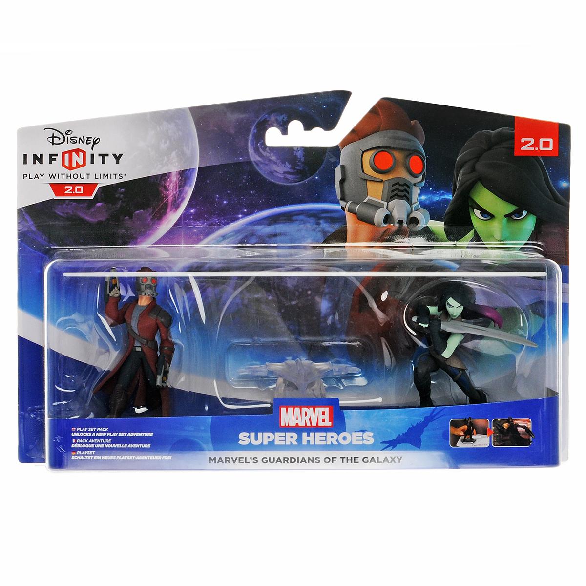 Disney Infinity 2.0 (Marvel). Набор 2+1: Стражи Галактики infinity premium 1 42330 полесье