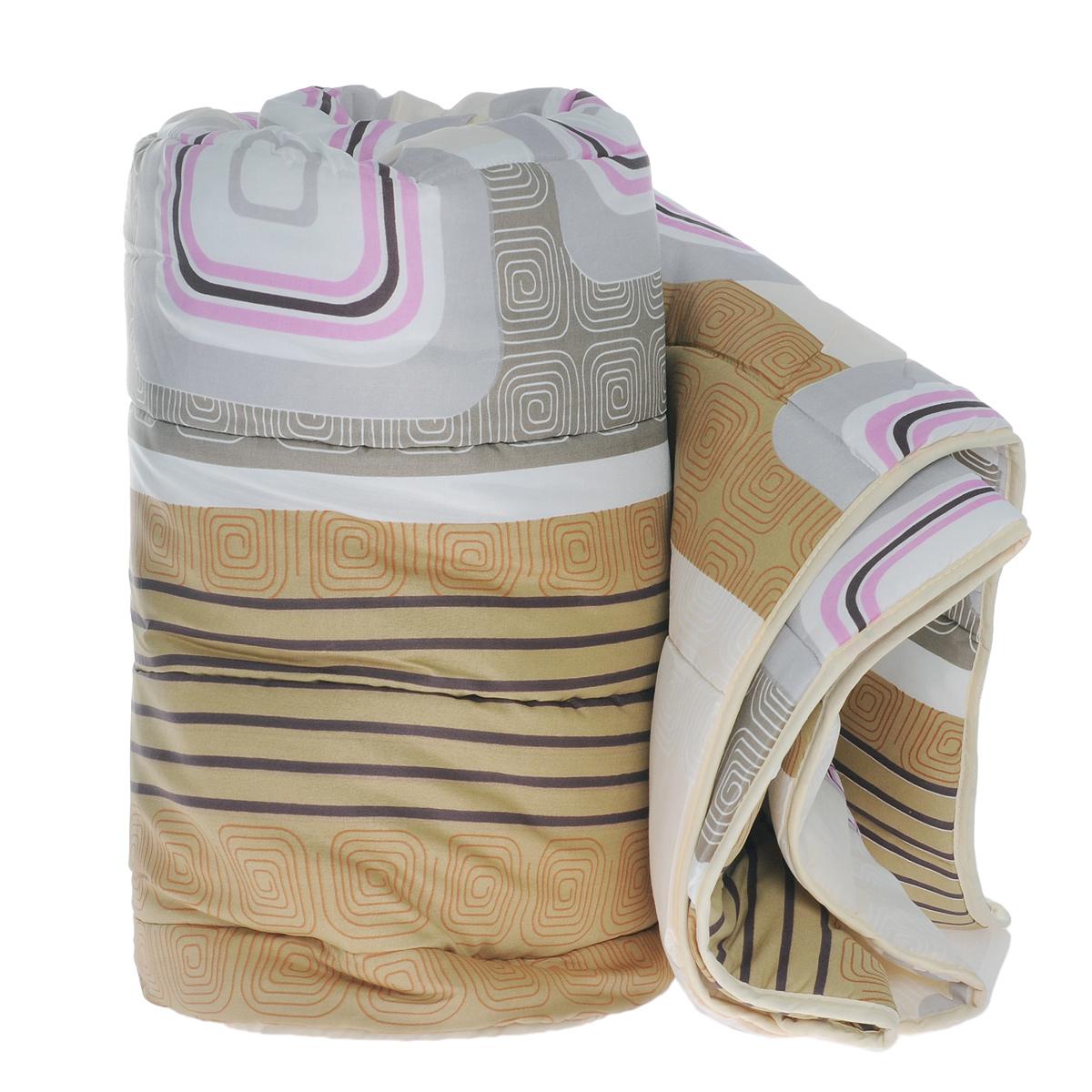 """Всесезонное одеяло OL-Tex """"Miotex"""" создаст комфорт и уют во время сна.   Стеганый чехол выполнен из полиэстера и оформлен красивым рисунком.   Внутри -   наполнитель из полиэфирного высокосиликонизированного волокна Holfiteks,   упругий и качественный.   Холфитекс - современный экологически чистый синтетический материал,   изготовленный по новейшим технологиям. Его уникальность заключается в   расположении волокон, которые позволяют моментально восстанавливать   форму и   сохранять ее долгое время. Изделия с использованием Холфитекса очень   удобны   в эксплуатации - их можно часто стирать без потери потребительских свойств,   они   быстро высыхают, не впитывают запахов и совершенно гиппоаллергенны.   Холфитекс также обеспечивает хорошую терморегуляцию, поэтому изделия с   наполнителем из холфитекса очень комфортны в использовании.  Одеяло с наполнителем Холфитекс порадует вас в любое время года. Оно   комфортно согревает и создает отличный микроклимат.   Рекомендации по уходу: - Стирка при температуре 30°С. - Не гладить. - Не отбеливать.  - Нельзя отжимать и сушить в стиральной машине.   - Сушить вертикально.   Плотность: 300 г/м2.    УВАЖАЕМЫЕ КЛИЕНТЫ! Обращаем ваше внимание на цветовой ассортимент товара и возможные отличия в дизайне. Поставка осуществляется в зависимости от наличия на складе.   Размер одеяла: 172 см х 205 см.  Материал чехла: 100% полиэстер.  Материал наполнителя: полиэфирное высокосиликонизированное волокно Holfiteks.  Плотность: 300 г/м2.    УВАЖАЕМЫЕ КЛИЕНТЫ!  Обращаем ваше внимание на ассортимент в расцветке товара. Поставка осуществляется в зависимости от наличия на складе."""