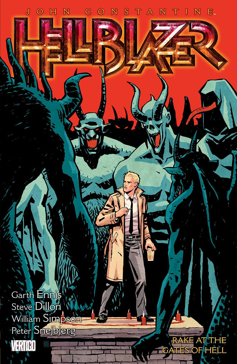 John Constantine: Hellblazer: Volume 8: Rake at the Gates of Hell b p r d hell on earth volume 6 the return of the master