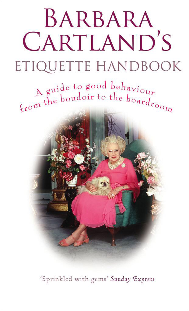 Barbara Cartland's Etiquette Handbook: A Guide to Good Behaviour from the Boudoir to the Boardroom rakesh kumar pharmacology and behaviour of rhesus monkey macaca mulatta