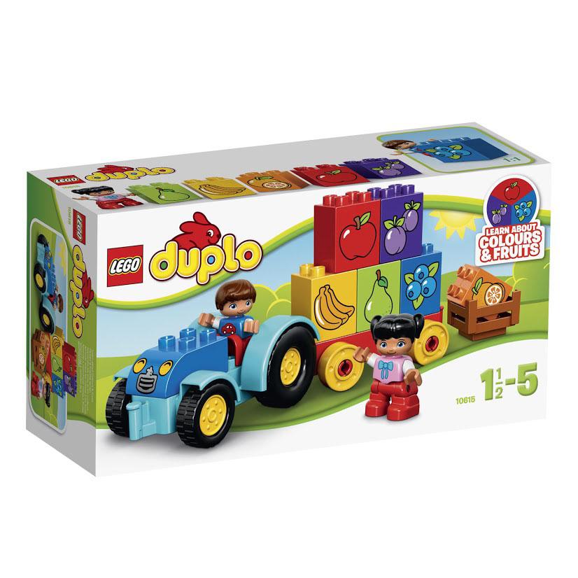 LEGO DUPLO Конструктор Мой первый трактор 10615 lego конструктор lego duplo мой первый поезд 10507