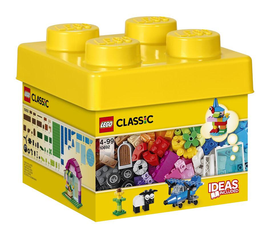 LEGO Classic Конструктор Набор для творчества 10692 lego classic конструктор дополнение к набору для творчества яркие цвета 10693