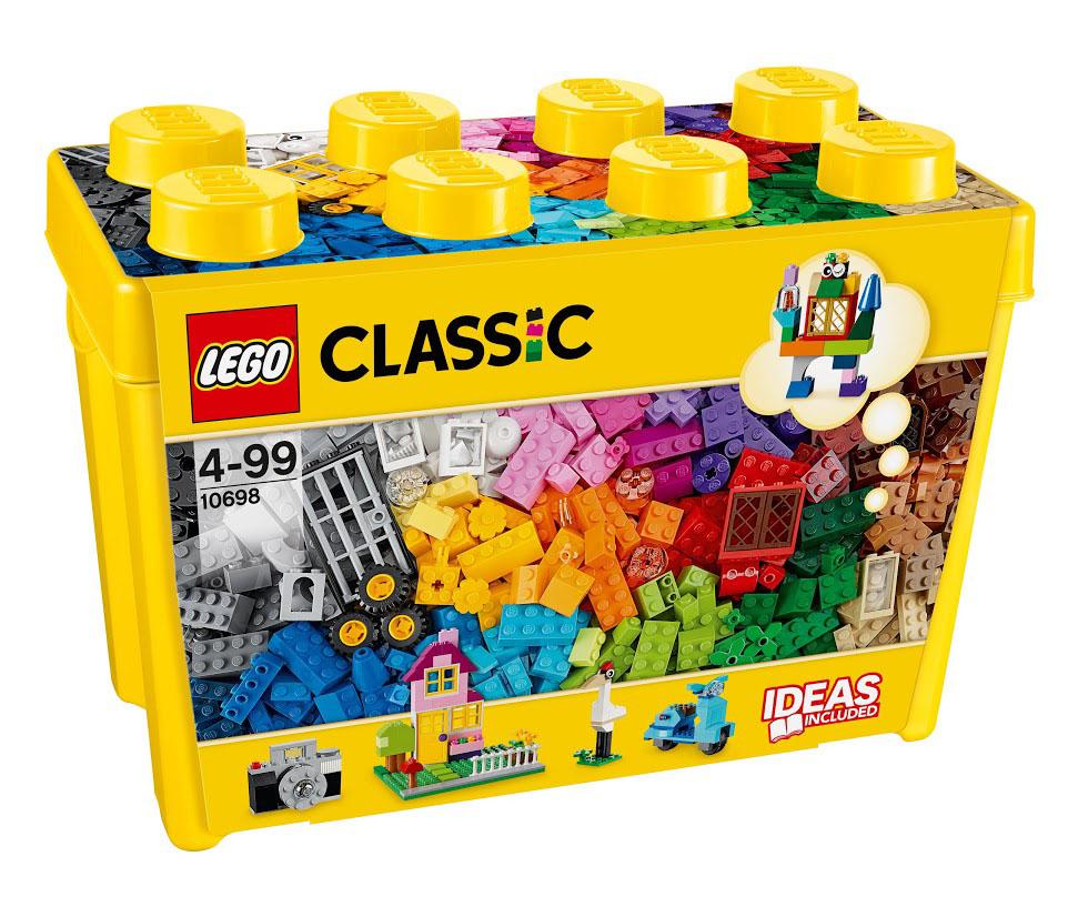 LEGO Classic Конструктор Набор для творчества большого размера 10698 lego classic конструктор дополнение к набору для творчества яркие цвета 10693