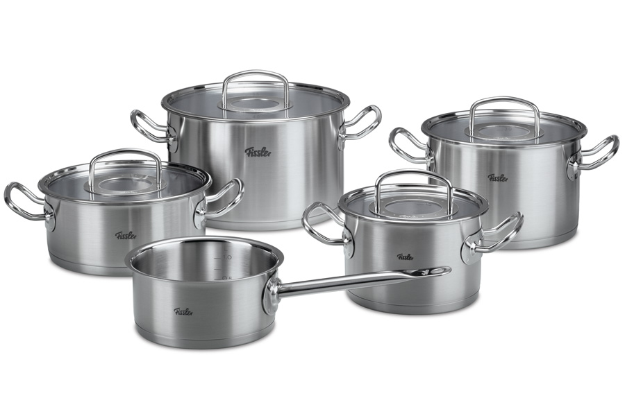 Набор кастрюль Fissler, серия Original pro collection, 5 пр. 8413605 кастрюля kuchenprofi 1 5 л 16х7 5 см 23 7070 28 16