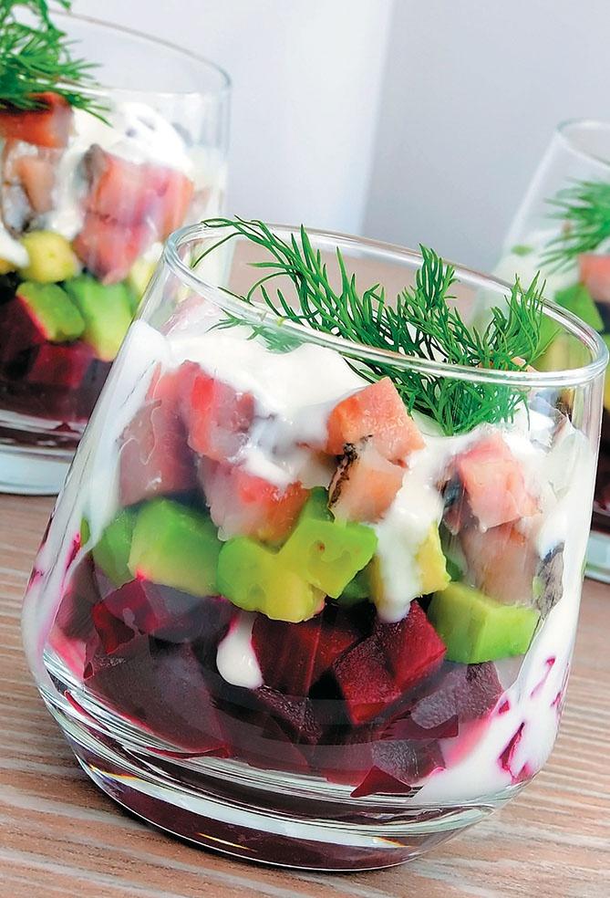 Аппетитные блюда из селедки.