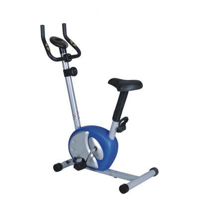 Велотренажер Sport Elit, цвет: серый, синий, 88,5 см х 47 см х 120,5 см велотренажер sport elit se 303