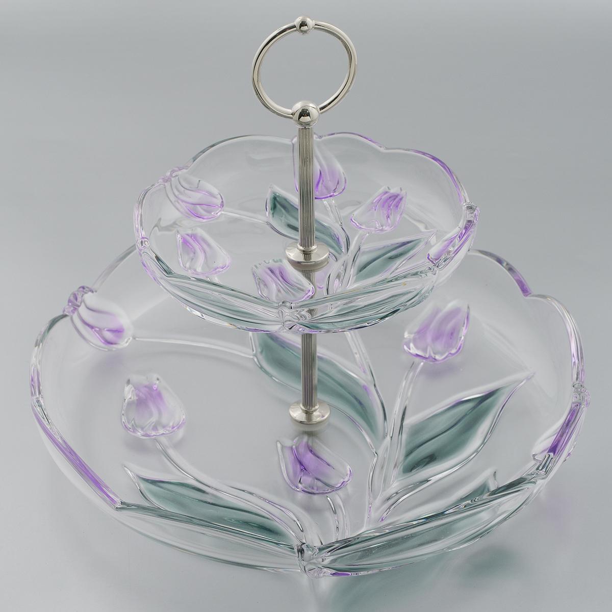 Этажерка-конфетница Walther-Glas