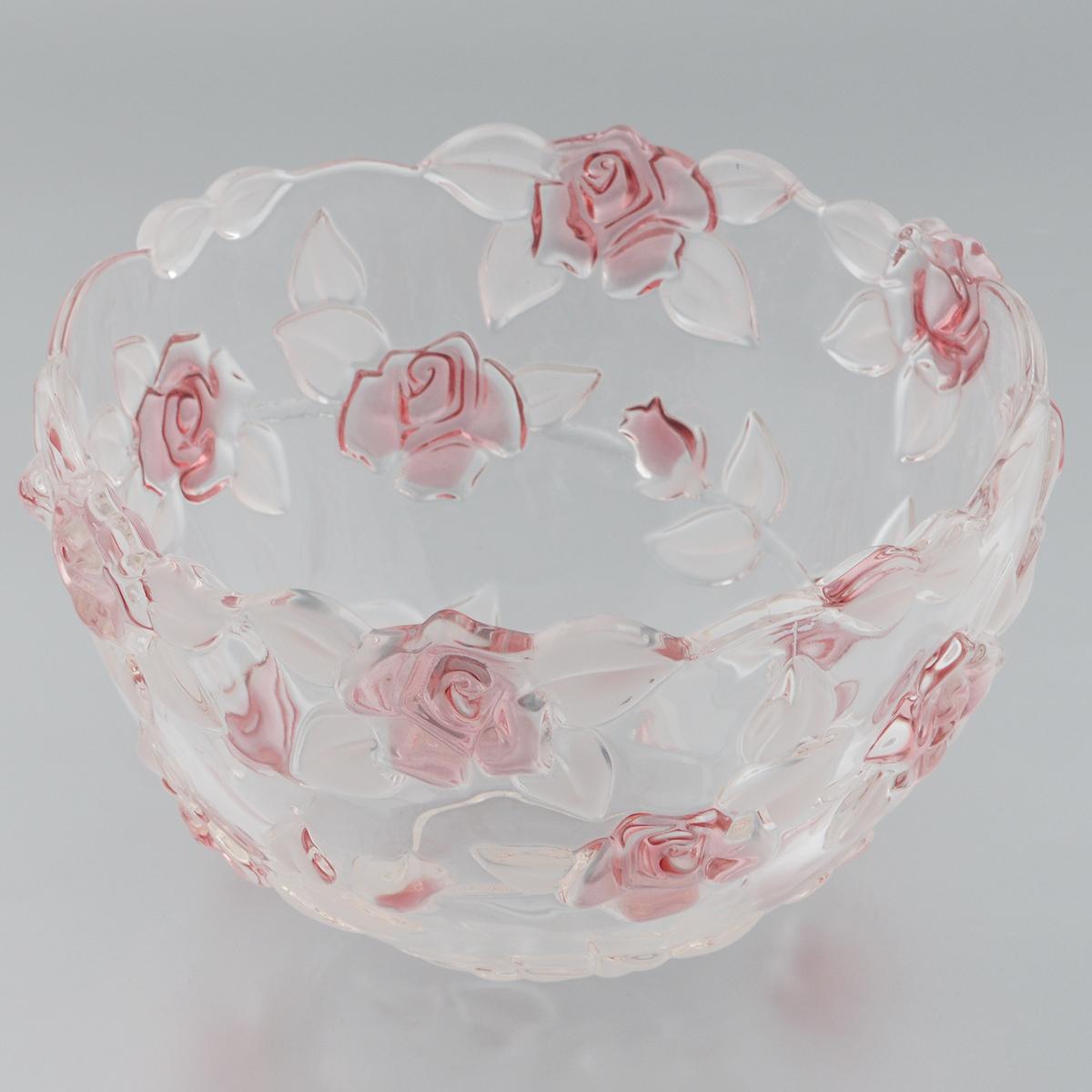 Салатник Walther-Glas Natascha, диаметр 22,5 см3775Салатник Walther-Glas Natascha выполнен из высококачественного толстого стекла и декорирован рельефом в форме цветов. Салатник имеет волнистые края, что, несомненно, понравится любителям классического стиля. Такое блюдо украсит ваш праздничный или обеденный стол, а яркое оформление понравится любой хозяйке.Применять только мягкие моющие средства и избегать мытья в посудомоечной машине.