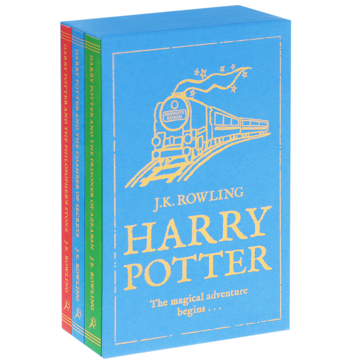 Harry Potter: The Magical Adventure Begins (комплект из 3 книг) new tontin 26pcs set hot massage energy body stone set salon spa with bag ce and rohs 9pcs 5x6 9pcs 6x6 8