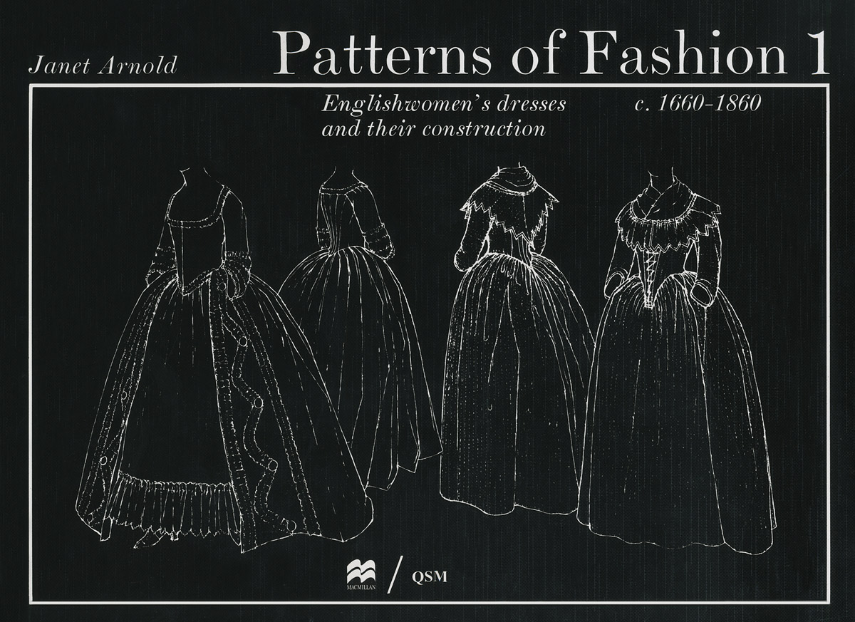 Patterns of Fashion 1: Englishwomen's Dresses and Their Construction c. 1660-1860 kitcyo588750pac103637 value kit crayola pip squeaks telescoping marker tower cyo588750 and pacon riverside construction paper pac103637