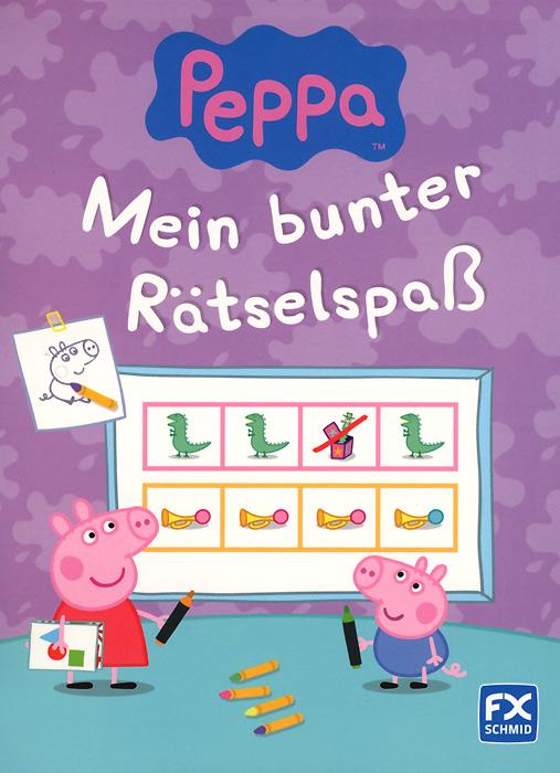 Peppa: Mein bunter Ratselspass