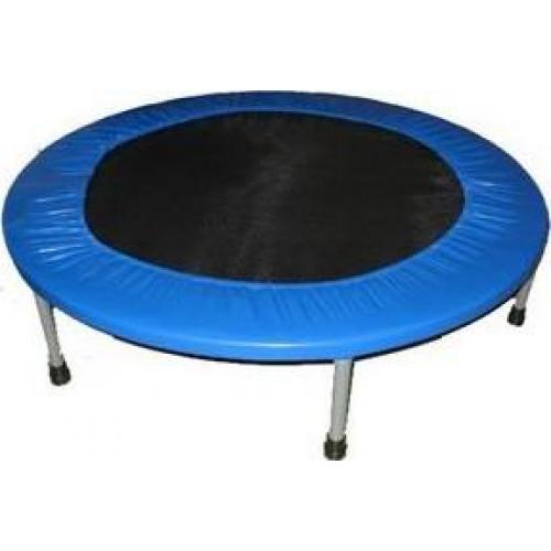 Батут Sport Elit, цвет: черный, синий, диаметр 125 смR-1266 (50)Батут Sport Elit предназначен для тренировок детей и взрослых. Его можно использовать как на улице, так и в помещении.На батуте можно прыгать, кувыркаться, играть, проводить спортивные состязания, экстремальные шоу и многое другое.Основная задача батута - физическое развитие, нагрузки, укрепление различных групп мышц, гармоничное развитие всего организма. Для занятий на батуте можно использовать дополнительный инвентарь: гантели, скакалку. Все это поможет разнообразить комплекс упражнений и достичь оптимального результата. А поскольку придется прилагать значительные усилия, чтобы скоординировать движения и сохранить равновесие, будьте уверены, что ни одна мышца тела не останется неохваченной. Занятия на батуте способствуют укреплению не только всех без исключения групп мышц, но и помогают развивать гибкость, а также сжигают немало лишних калорий!