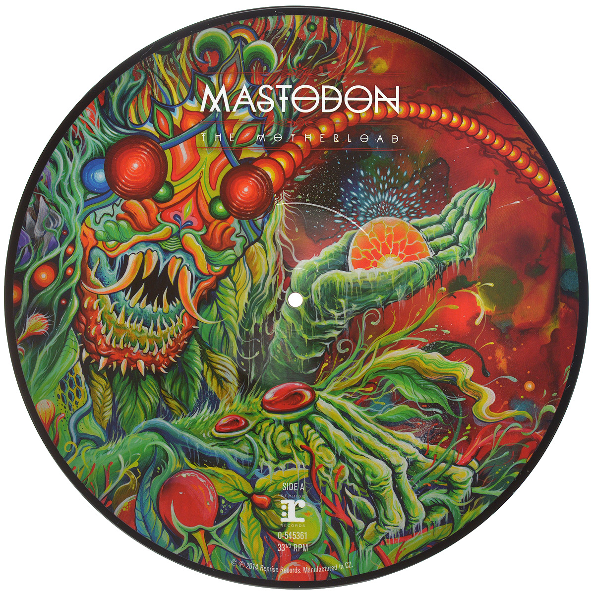 Mastodon Mastodon. The Motherload (LP) mastodon mastodon the hunter cd dvd