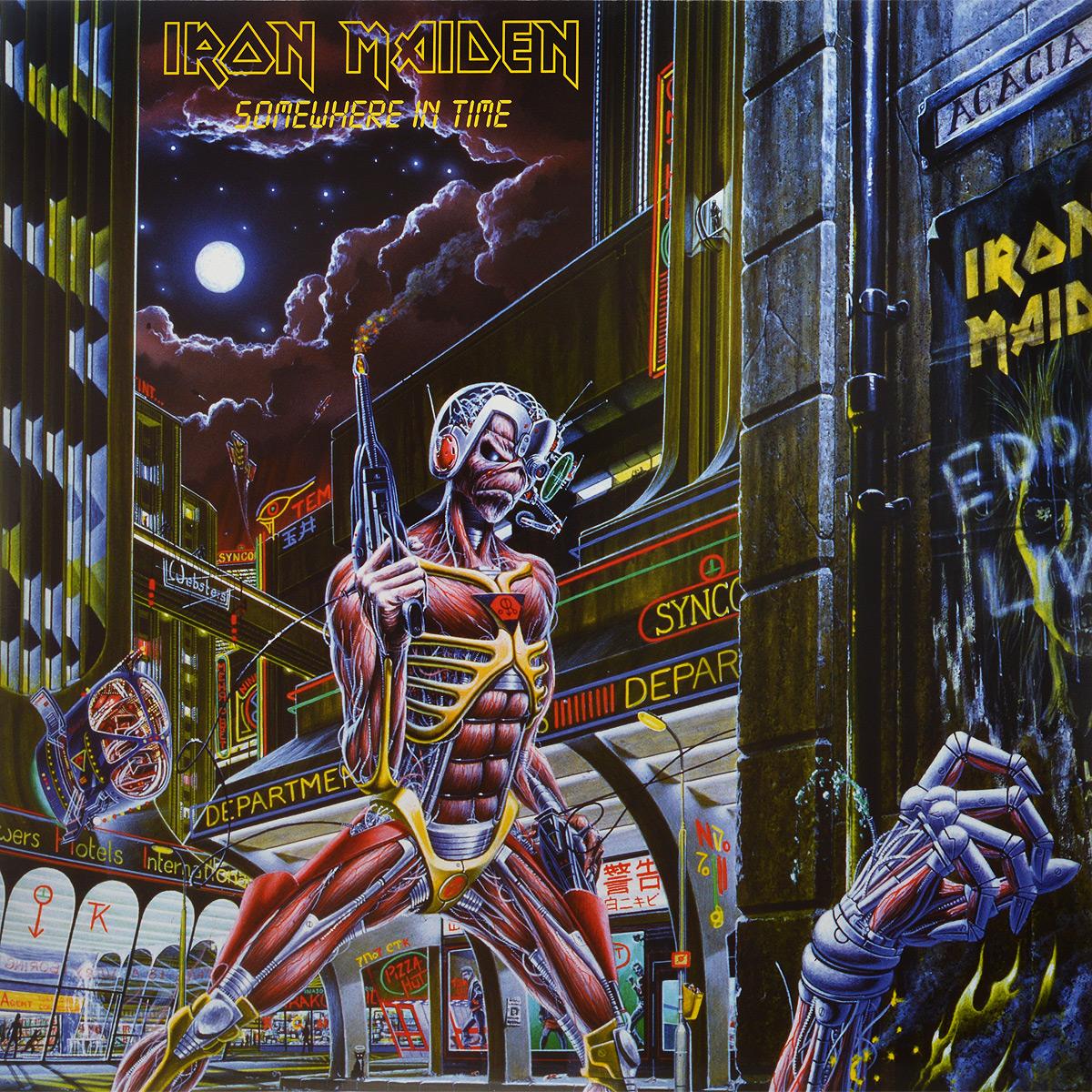 Iron Maiden Iron Maiden. Somewhere In Time (LP)