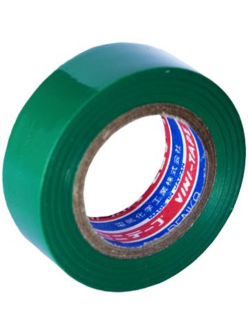 Лента изоляционная Denka Vini Tape, 19 мм, 9 м, зеленая#102-Green 9mДля работы с проводкой и изоляцией, бытовых нужд, в качестве защитного покрытия и т.д.