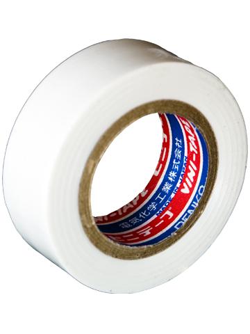 Лента изоляционная Denka Vini Tape, цвет: белый, 19 мм х 9 м#102-White 9mЛента изоляционная Denka Vini Tape используется для работы с проводкой и изоляцией, бытовых нужд, в качестве защитного покрытия и т.д.