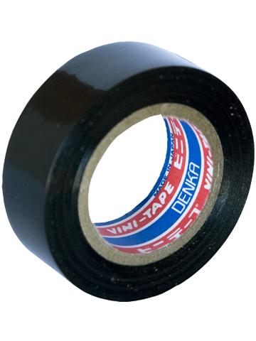 Лента изоляционная Denka Vini Tape, цвет: черный, 18 мм х 20 м#103-18 Black 20mЛента изоляционная Denka Vini Tape используется для работы с проводкой и изоляцией, бытовых нужд, в качестве защитного покрытия и т.д.