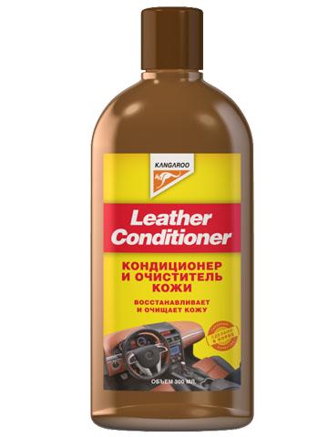 Кондиционер для кожи Kangaroo Leather Conditioner, 300 мл250607Kangaroo Leather Conditioner восстанавливает и защищает кожу. Очищает от мельчайшей пыли, удаляет пятна и грязь. Имеет приятный запах. Используется для обработки одежды, обивки мебели, автомобильных салонов, сумок и других изделий из кожи. Увлажняющие масла, входящие в состав кондиционера, увлажняют кожу, возвращают ей первоначальный блеск и мягкость. Полученный эффект сохраняется надолго.