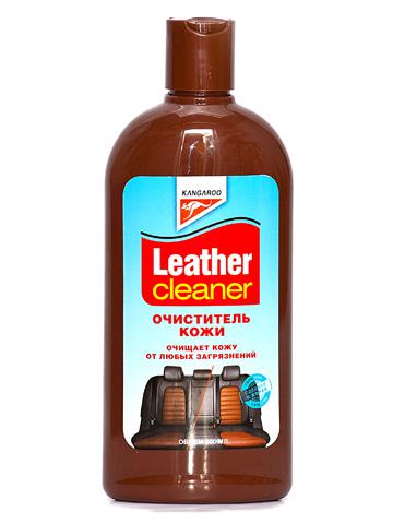 Очиститель кожи Kangaroo Leather Cleaner, 300 мл250812Очиститель кожи Kangaroo Leather Cleaner это незаменимое средство для владельцев автомобилей с кожаным салоном. Быстро и эффективно очистит кожаную поверхность от въевшихся пятен и грязи. Очень прост в применении и может быть использован не только для салонов авто, но и для предметов домашнего интерьера. Пусть ваш кожаный салон всегда выглядит как новый.