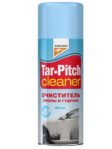 Очиститель смолы и гудрона Kangaroo Tar Pitch Cleaner, 400 мл331207Очиститель смолы и гудрона Kangaroo Tar Pitch Cleaner быстро и эффективно удаляет смолу, деготь, дорожный налет, грязь, пятна и другие загрязнения с корпуса автомобиля и других поверхностей.