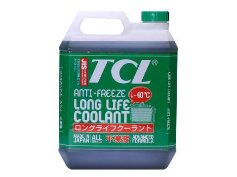 Антифриз TCL LLC, готовый, цвет: зеленый, 4 лLLC01243Высококачественная охлаждающая жидкость TCL LLC, препятствующая перегреву двигателей даже в сильную жару и замораживанию системы охлаждения в сильный мороз. Защищает от коррозии металлические части системы охлаждения и удаляет с них ранее образовавшиеся окислы. Является отличной смазкой для помп. Сохраняет свои качества в системах охлаждения в течение 2 лет. Не замерзает до температуры -40°С. Антифриз зеленого цвета предназначен для всех автомобилей, кроме TOYOTA и DAIHATSU.Состав: этиленгликоль, комплекс присадок.