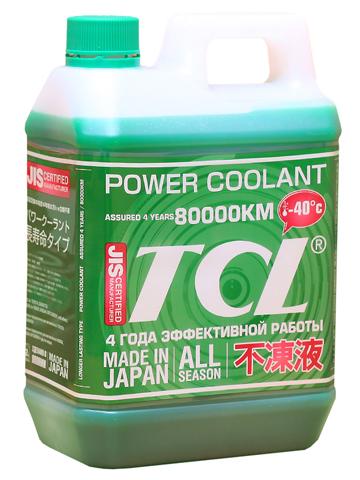 Антифриз TCL Power Coolant, готовый, цвет: зеленый, 2 лPC2-40GВысококачественная охлаждающая жидкость TCL Power Coolant с увеличенным сроком службы, препятствующая перегреву двигателей даже в сильную жару и замораживанию системы охлаждения в сильный мороз. Защищает от коррозии металлические части системы охлаждения и удаляет с них ранее образовавшиеся окислы. Является отличной смазкой для помп. Сохраняет свои качества в системах охлаждения в течение 4 лет. Не замерзает до температуры -40°С. Антифриз зеленого цвета предназначен для всех автомобилей, кроме TOYOTA и DAIHATSU. Концентрированный антифриз обязательно нужно использовать в разбавленном виде 25~60 %.Состав: этиленгликоль, метанол, комплекс присадок.