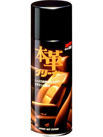 Очиститель кожи Soft99 Leather Seat Cleaner, мусс, 300 мл2052Очиститель кожи Soft99 Leather Seat Cleaner предназначен для натуральной и синтетической кожи. Средство в виде мусса с очень быстрым эффектом. Для очистки и ухода за автомобильными сидениями из натуральной кожи, а также виниловой кожи и т.д. Естественный уход. Специальный очиститель удаляет с кожи грязь, не повреждая ее естественной структуры. Содержит витамин Е, который предотвращает старение кожи.