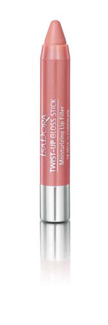 Isa Dora Блеск-карандаш для губ Кофе и поэзия Twist-up Gloss Stick, тон №16, 2,7 г111816Мягкая кремовая текстура с увлажняющими свойствами тает на губах и помогает зафиксировать влагу, ощущение комфорта. Коллаген и гиалуроновая кислота оказывают уплотняющее и укрепляющее воздействие - губы выглядят более полными и гладкими. Нет необходимости затачивать карандаш благодаря специальному механизму выдвижения стержня. Товар сертифицирован.
