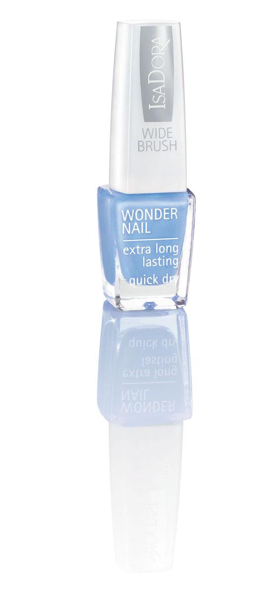 Isa Dora Лак для ногтей Wonder Nail, тон 757 Scuba Blue, 6мл220757Стойкий и быстро сохнущий лак для ногтей Isa Dora Wonder Nail с широкой кисточкой, покрывающей ногти всего за один штрих.Долго сохраняет свой блеск. Кисточка имеет особую форму, так как каждый ее волосок индивидуально подстрижен, что позволяет избежать полосок при нанесении лака.Товар сертифицирован.