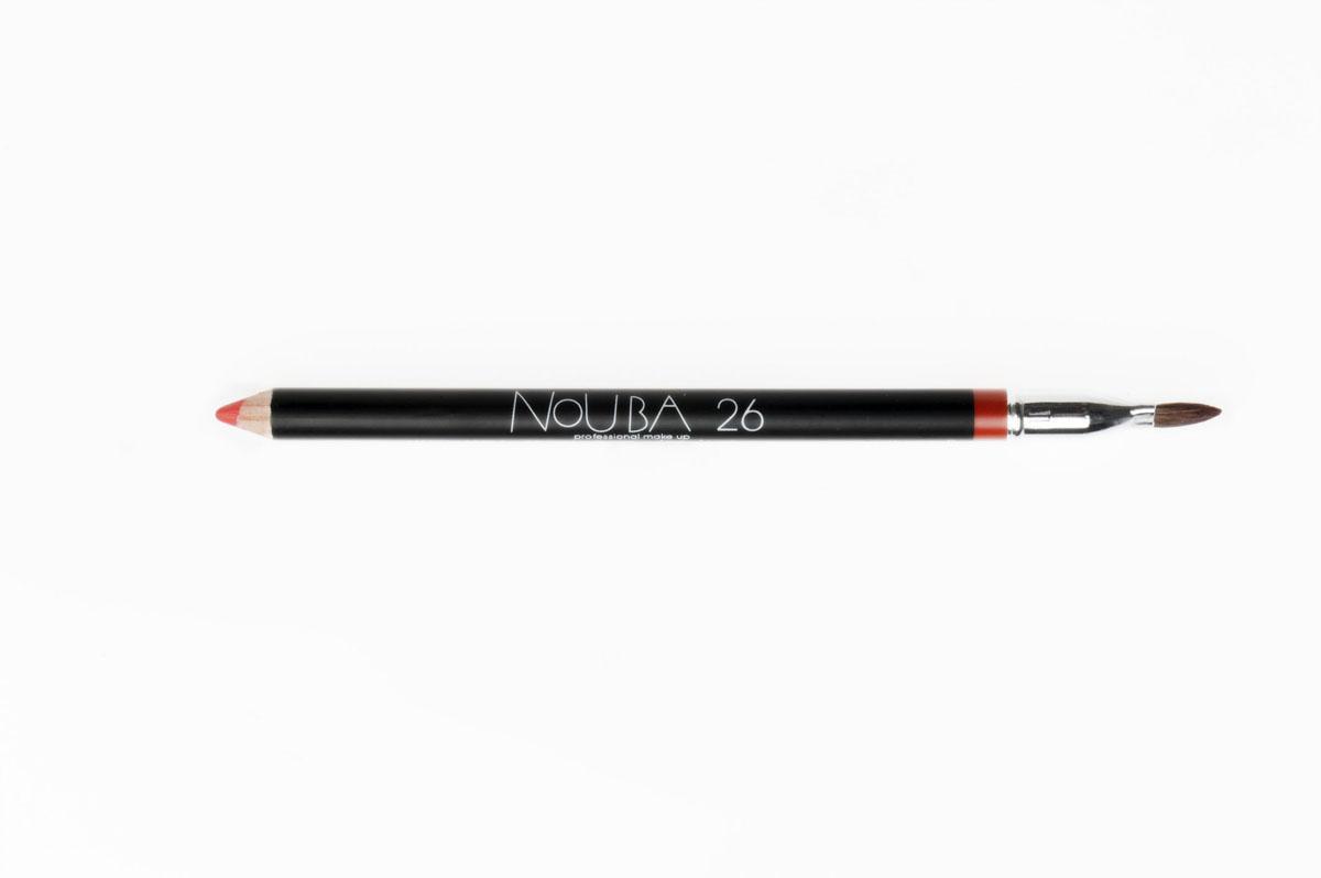 Nouba Карандаш для губ, с кисточкой, тон №26, 1,1 г32226