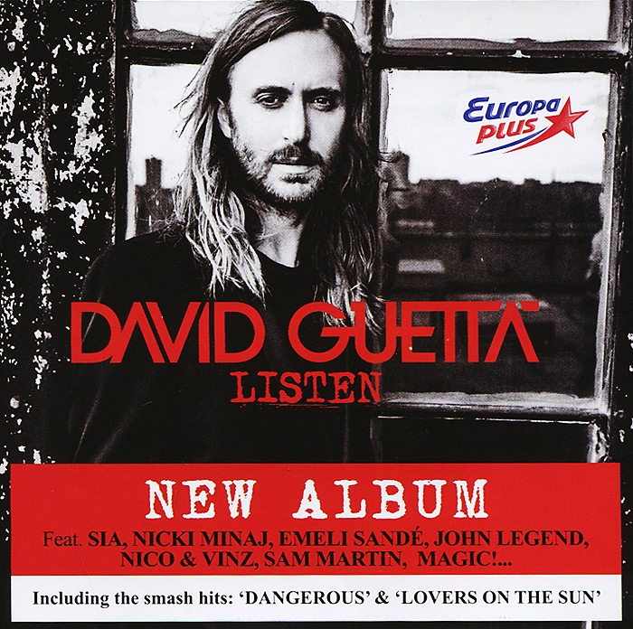 Дэвид Гетта David Guetta. Listen дэвид гетта david guetta original album series 5 cd