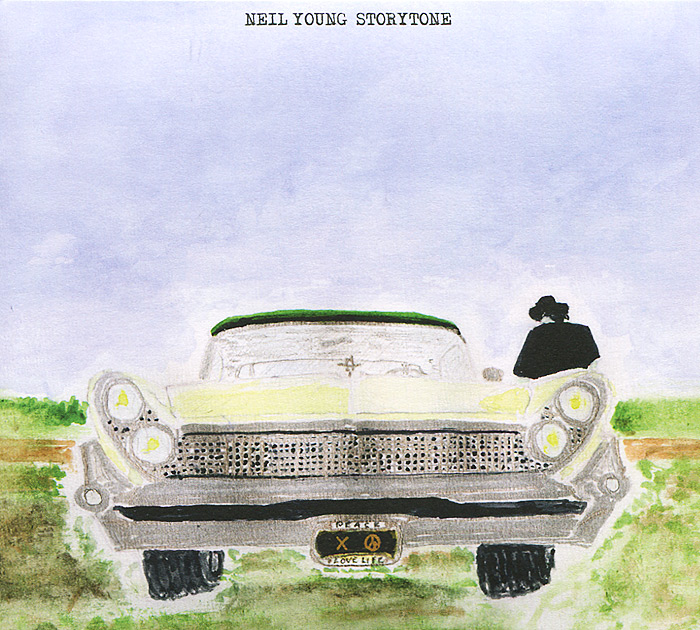 Нил Янг Neil Young. Storytone (2 CD) cd neil young