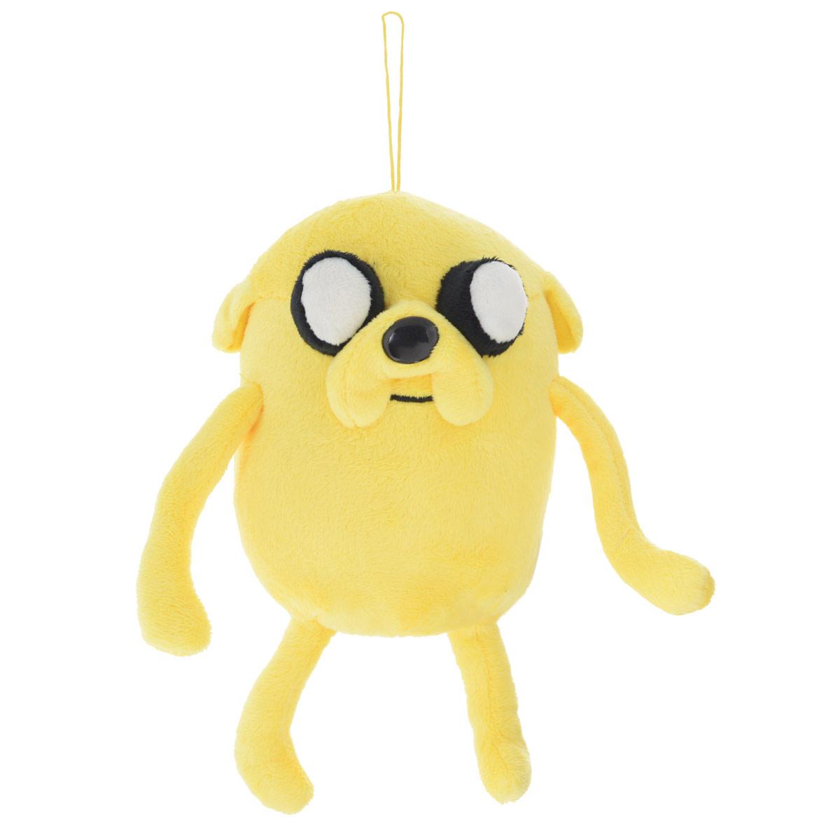 Мягкая игрушка Adventure Time Пес Джейк, 22 см малышарики мягкая игрушка собака бассет хаунд 23 см
