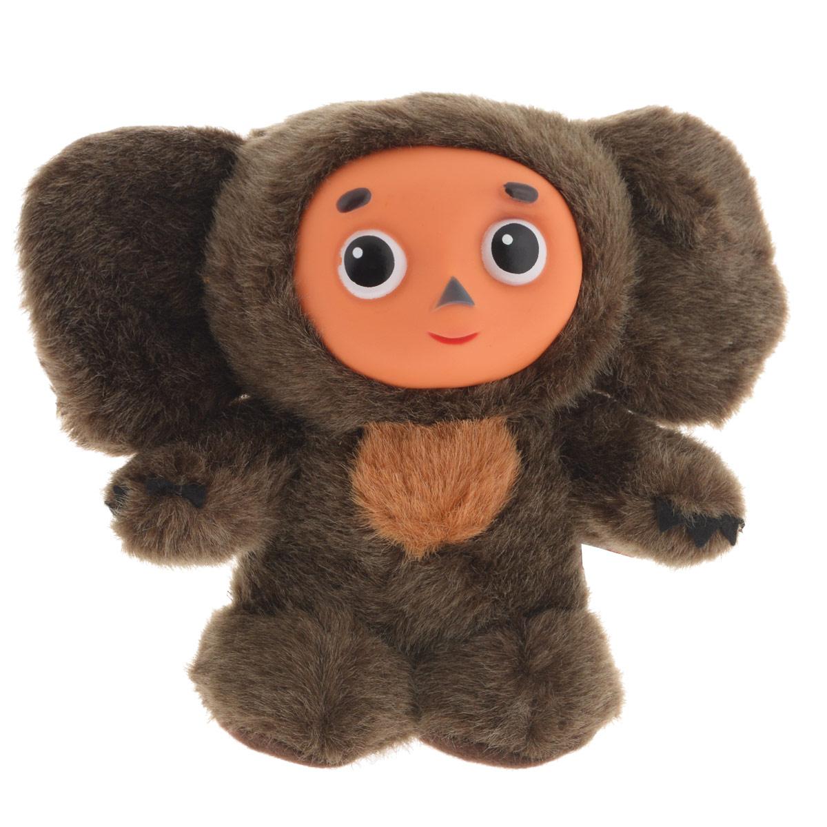Мягкая озвученная игрушка Fancy Чебурашка, 18 см чебурашка что как почему