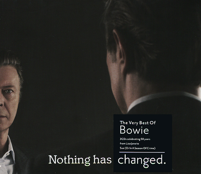 Дэвид Боуи David Bowie. Nothing Has Changed (3 CD) bad influence