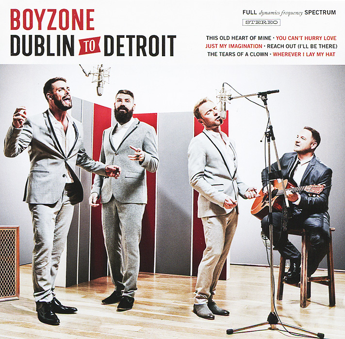 Boyzone Boyzone. From Dublin to Detroit boyzone singapore