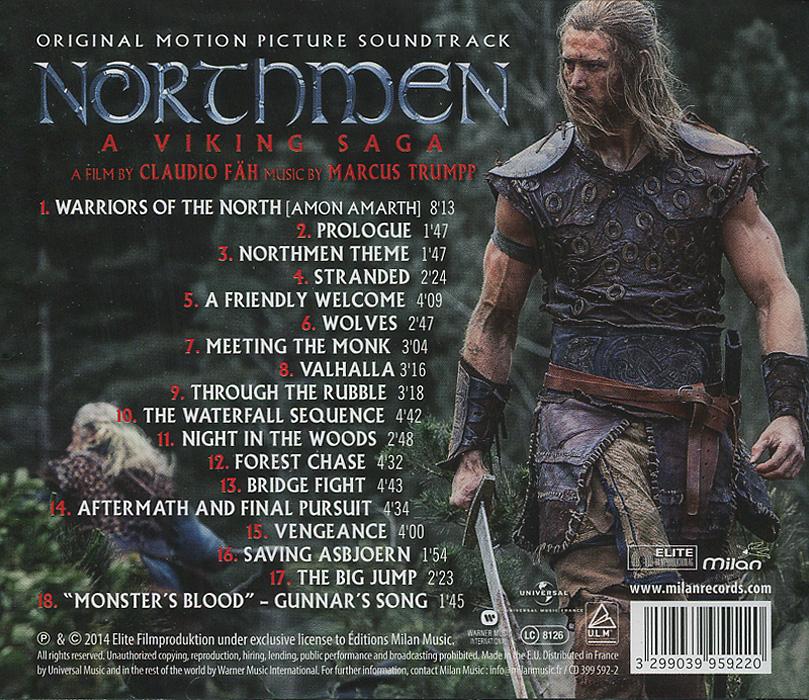 Marcus Trumpp.  Northmen:  A Viking Saga.  The Original Motion Picture Soundtrack Warner Music