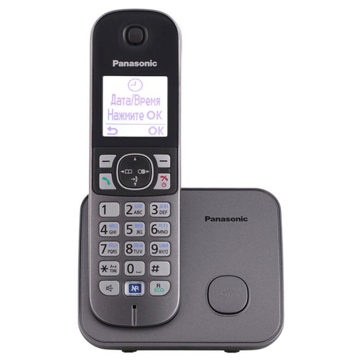 Zakazat.ru Радиотелефон Panasonic KX-TG6811 RUM, Silver