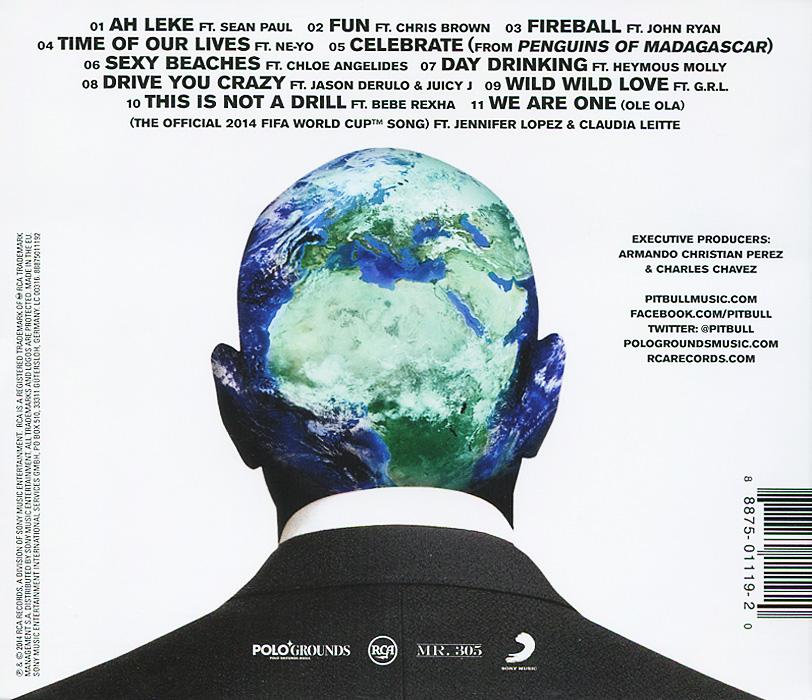 Pitbull.  Globalization Warner Music,RCA