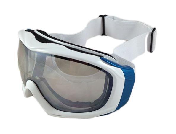 Очки горнолыжные Sky Monkey/Vcan, цвет: белый. AG0170 (VSE62)VSE62Спортивные горнолыжные очки Vcan надежно защитят Ваши глаза во время катания на лыжах или сноуборде.Двойные линзы выполнены из противоударного поликарбоната для большей защиты глаз. Отличительная особенность поликарбоната - самая высокая устойчивость к ударным нагрузкам. Очки с поликарбонатными линзами наиболее травмобезопасны. Линзы с зеркальным напылением обеспечивают 100% защиту от ультрафиолетовых лучей (UV400). Противотуманное покрытие на внутренней стороне линз предотвращает запотевание оптики. Характеристики:Материал: поликарбонат, пластик. Размеры упаковки: 20 см х 10 см х 10,5 см.