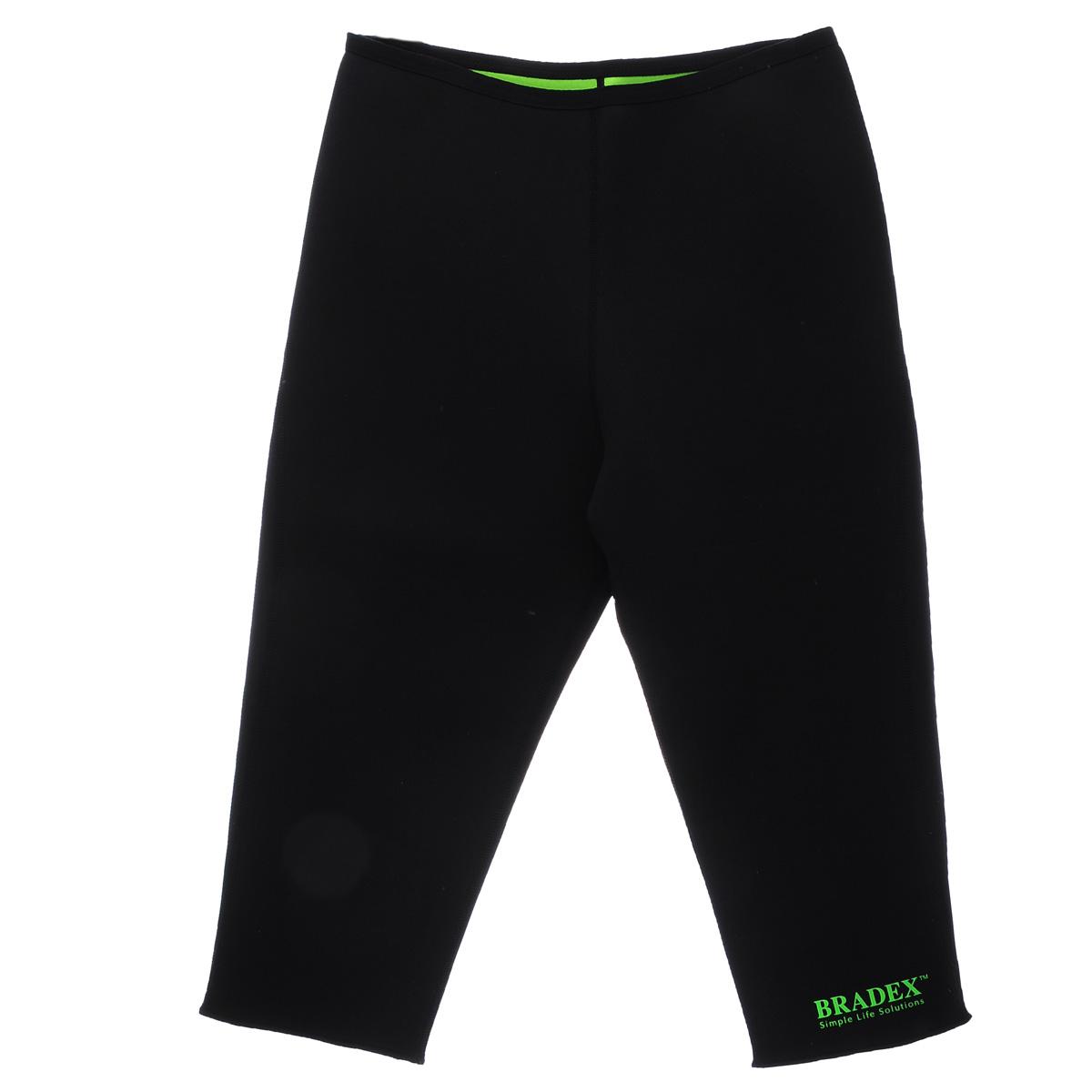 Леггинсы для похудения Bradex Body Shaper, цвет: черный. KZ 0227. Размер XL (46/52) ранец bradex цвет черный белый