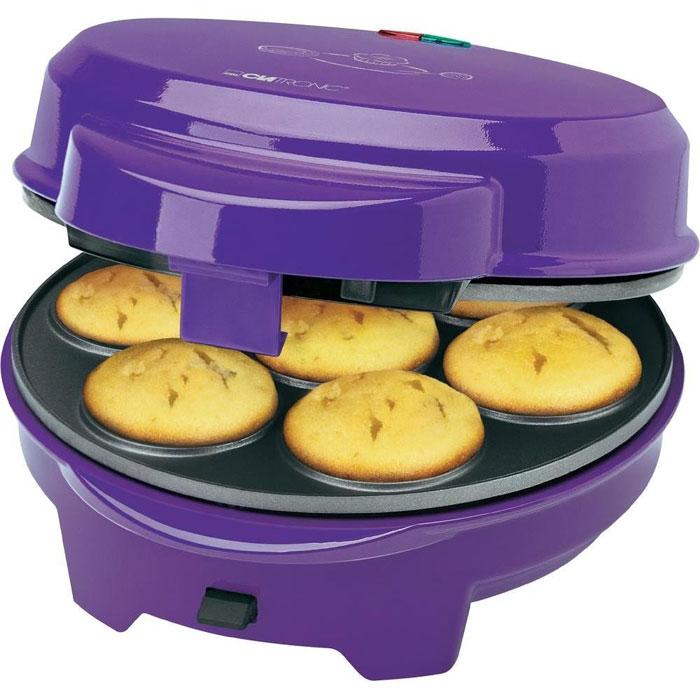 Clatronic DMC 3533 3 in 1, Lilac мультимейкерDMC 3533 lila 3 in 1Универсальный кухонный прибор, позволяющий заменить до трех приборов, предназначенных для приготовления в домашних условиях пончиков, маффинов или мини-кексов. Мультимейкер Clatronic DMC 3533 предназначен для одновременного приготовления 12 пышек (кейков), до 7 пончиков (бубликов) или до 7 мафинов (кексов), что делает её не заменимым прибором на кухне. Clatronic DMC 3533 сэкономит ваше время и приготовит вкусный завтрак для всей семьи. Прибор имеет автоматический регулятор температуры, контрольные лампы сети и нагрева, а также теплоизолированную ручку, устойчивые резиновые ножки, блокировку крышки. В комплекте 50 палочек для накалывания пышек.