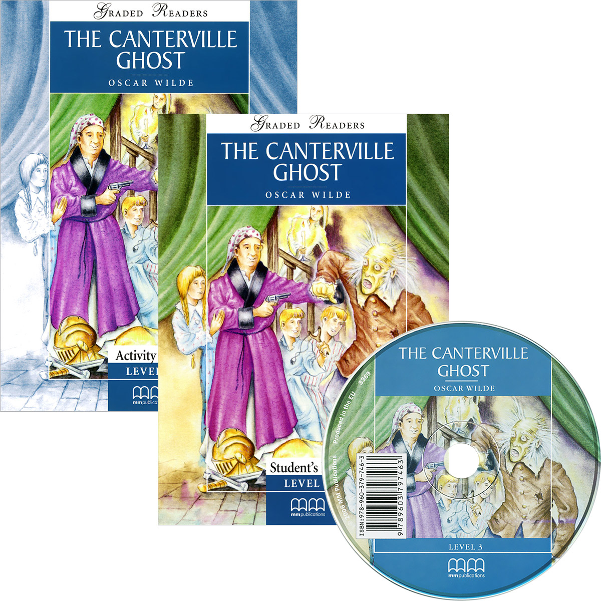 The Canterville Ghost (комплект из 2 книг + CD) the john green collection комплект из 5 книг