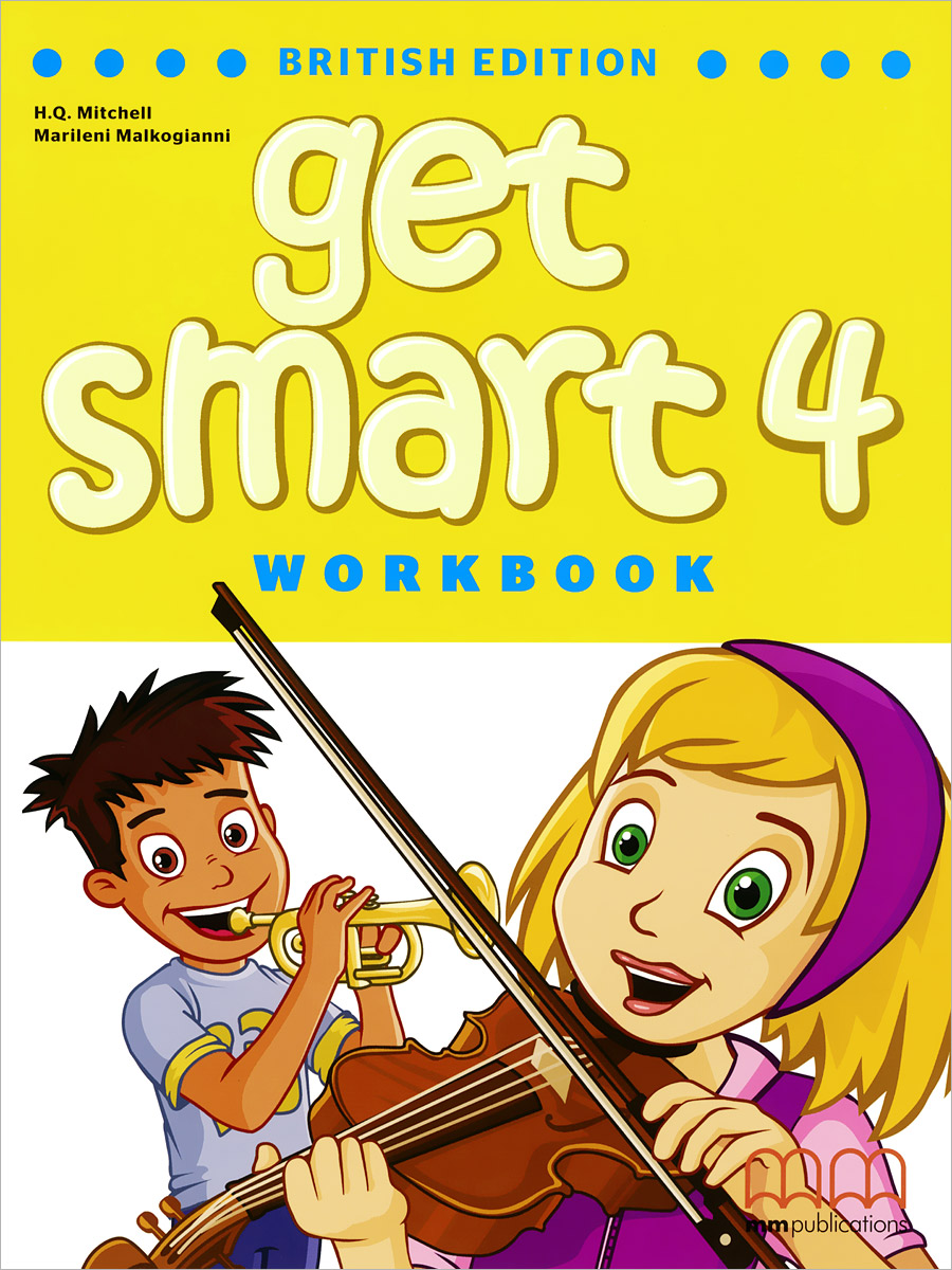Get Smart 4: Workbook (+ CD) get smart 1 workbook cd cd rom included british edition