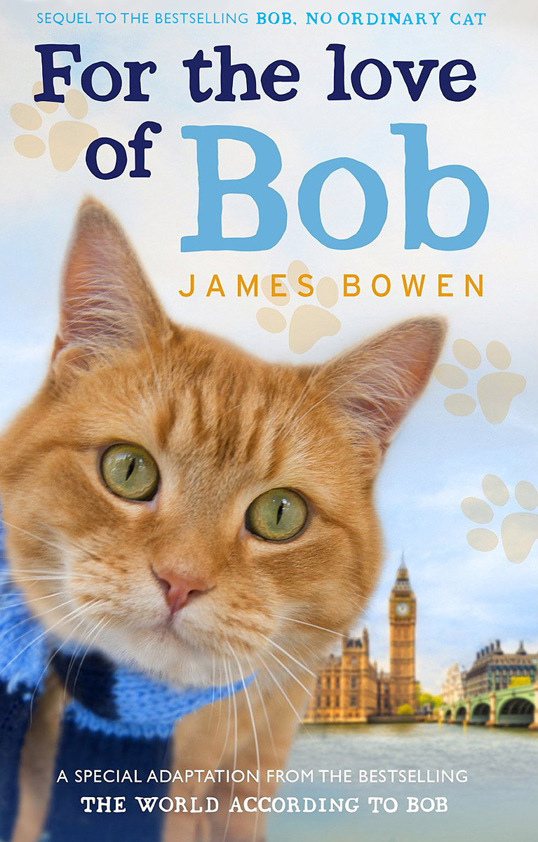 For the Love of Bob a street cat named bob how one man and his cat found hope on the streets