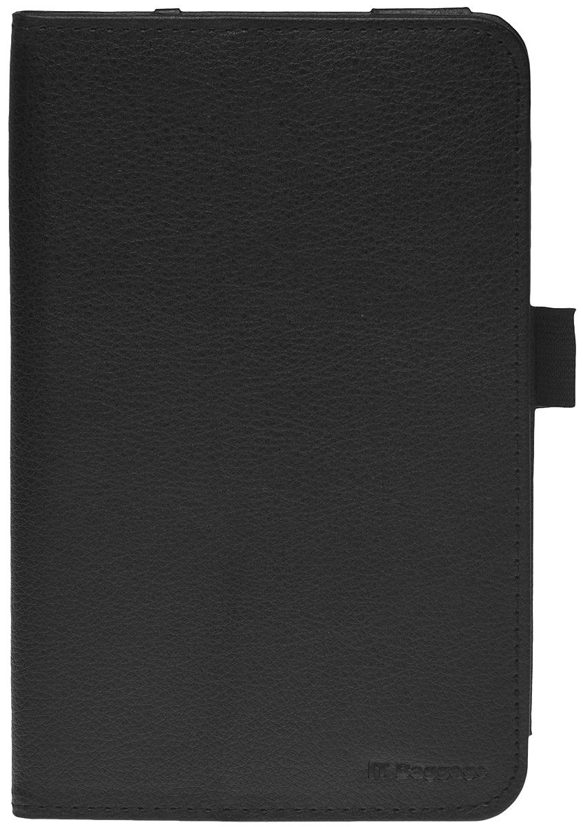 IT Baggage чехол для Lenovo Idea Tab 7 A7-30 (A3300), BlackITLNA3302-1Чехол IT Baggage для планшета Lenovo Idea Tab 7 A7-30 (A3300) - это стильный и лаконичный аксессуар, позволяющий сохранить планшет в идеальном состоянии. Надежно удерживая технику, обложка защищает корпус и дисплей от появления царапин, налипания пыли. Имеет свободный доступ ко всем разъемам устройства.В комплект к чехлу IT Baggage для Lenovo Idea Tab 7 A7-30 (A3300) входит непромокаемый футляр.